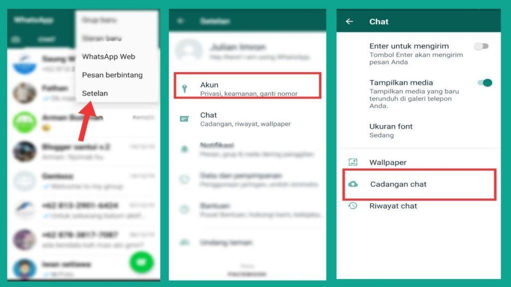 Cara Mengembalikan File Whatsapp Yang Terhapus Gentooz