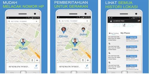 Aplikasi Pelacak HP Hilang
