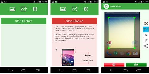 Aplikasi Screenshot Android