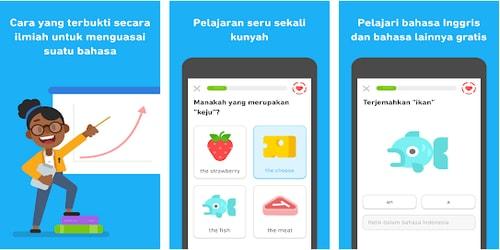 Aplikasi Belajar Bahasa Asing